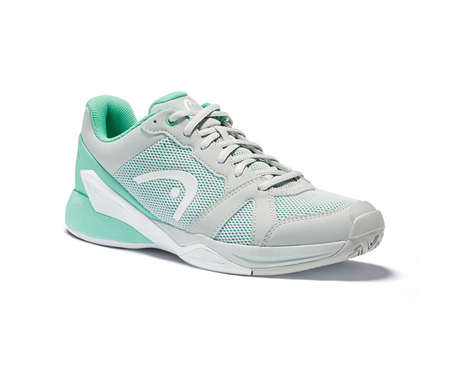 Head Revolt EVO (W) (Grey/Light Green)