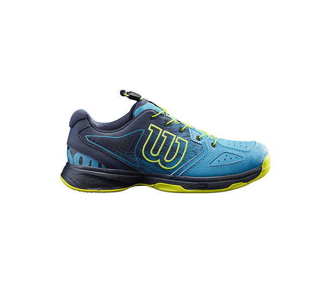 Wilson Kaos QL (JR) (Blue/Lime)